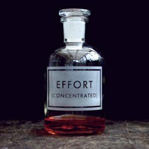 Effort bottle
